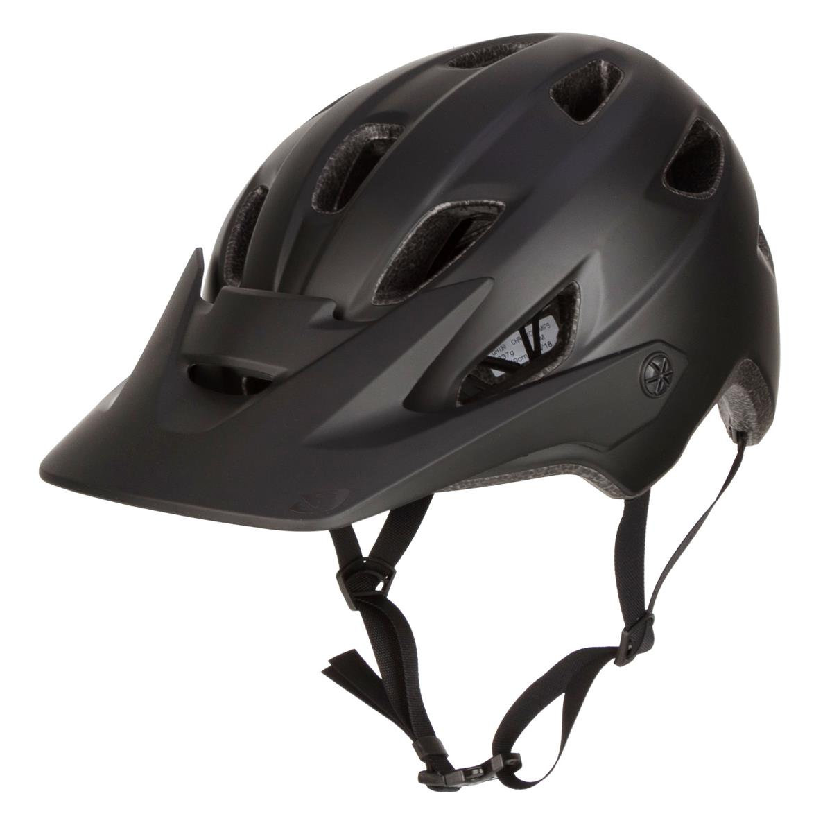 Giro Trail-MTB Helm Chronicle MIPS Matt/Gloss Schwarz