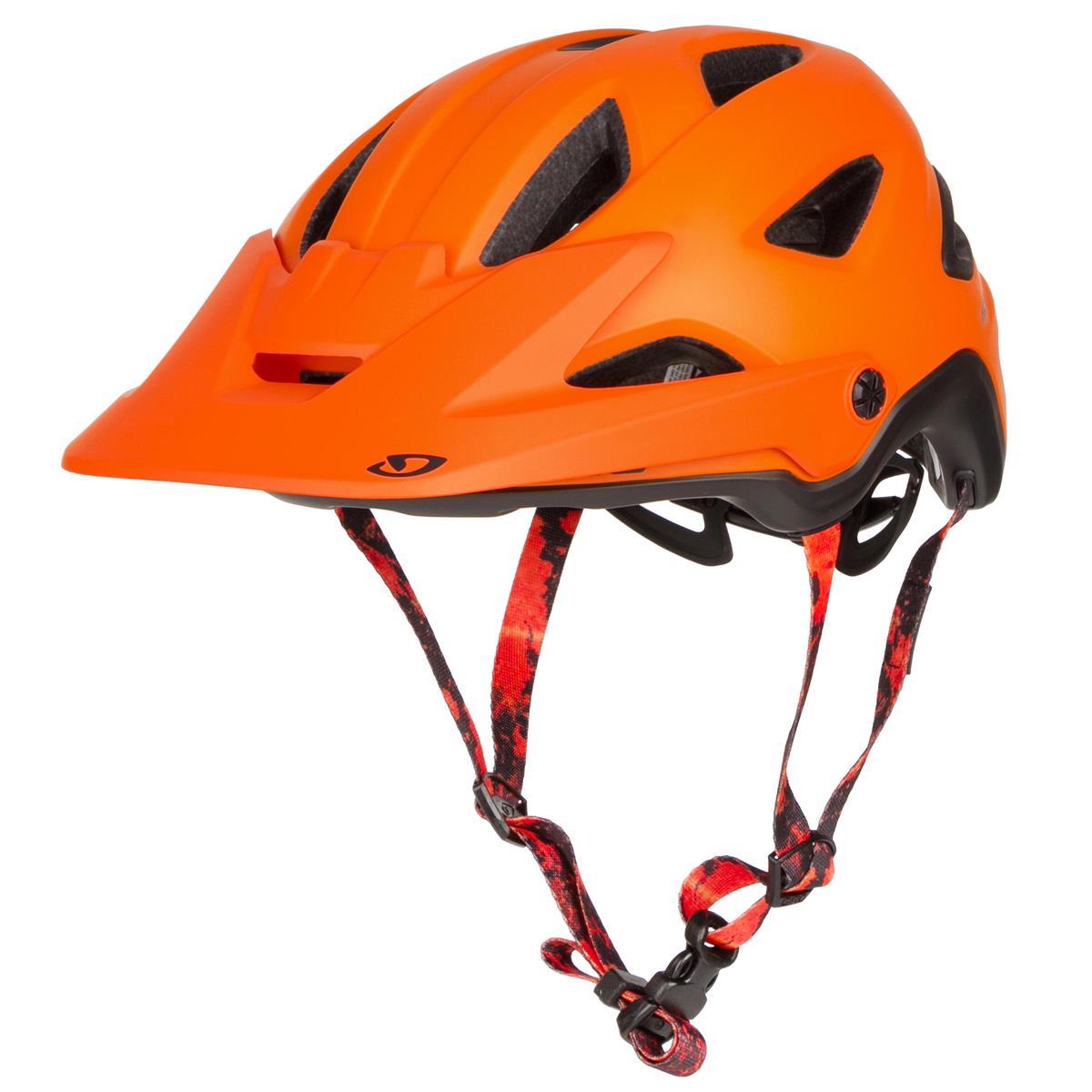 Giro Enduro-MTB Helm Montaro MIPS Matt Deep Orange/Warm Black