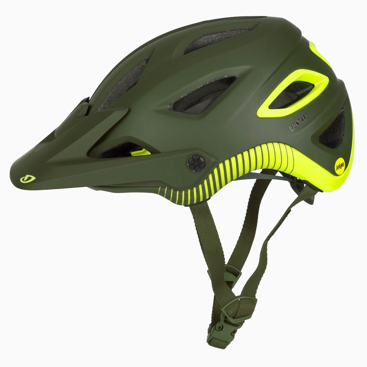 giro enduro mtb helm montaro mips matt oliv citron ebay. Black Bedroom Furniture Sets. Home Design Ideas