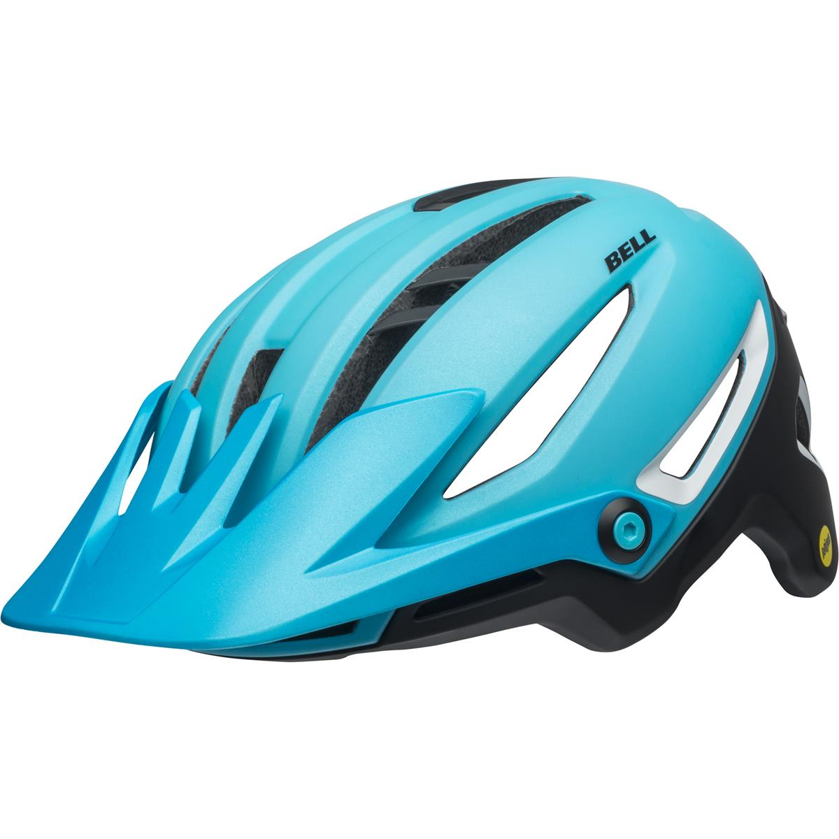 Bell Enduro-MTB Helm Sixer MIPS Ridgeline - Matt Hellblau/Schwarz