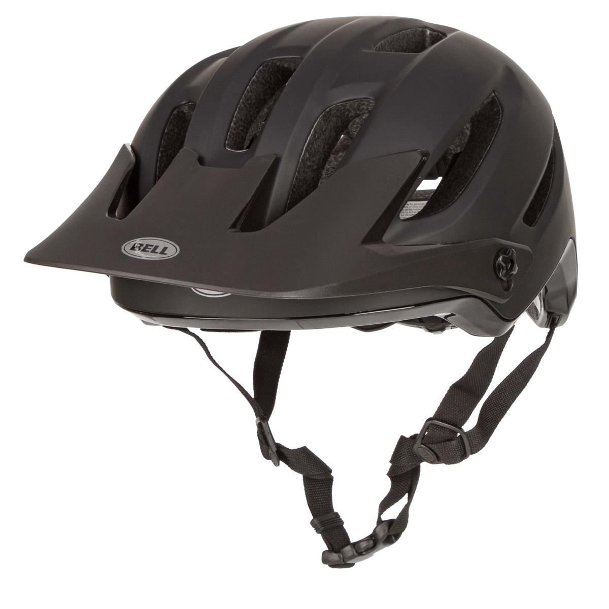 bell enduro mtb helm 4forty matt gloss schwarz 2019. Black Bedroom Furniture Sets. Home Design Ideas