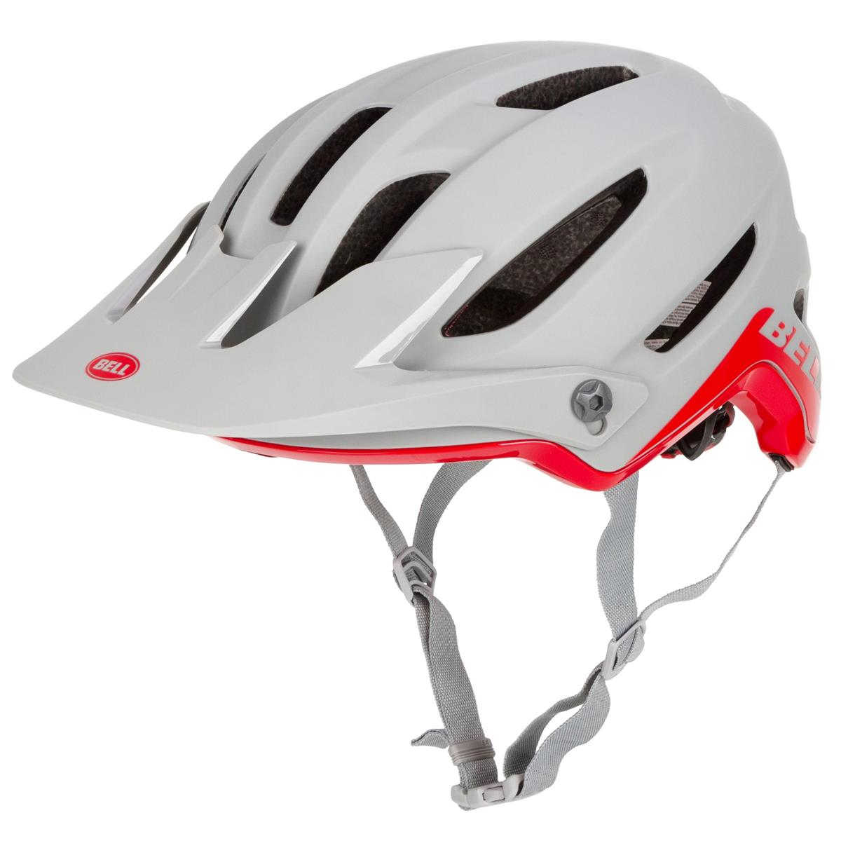 Bell Enduro-MTB Helm 4Forty Cliffhanger - Matt/Gloss Dunkelgrau/Crimson