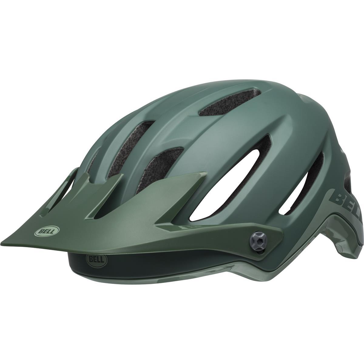 Bell Enduro-MTB Helm 4Forty Cliffhanger - Matt/Gloss Dunkelgrün/Hellgrün