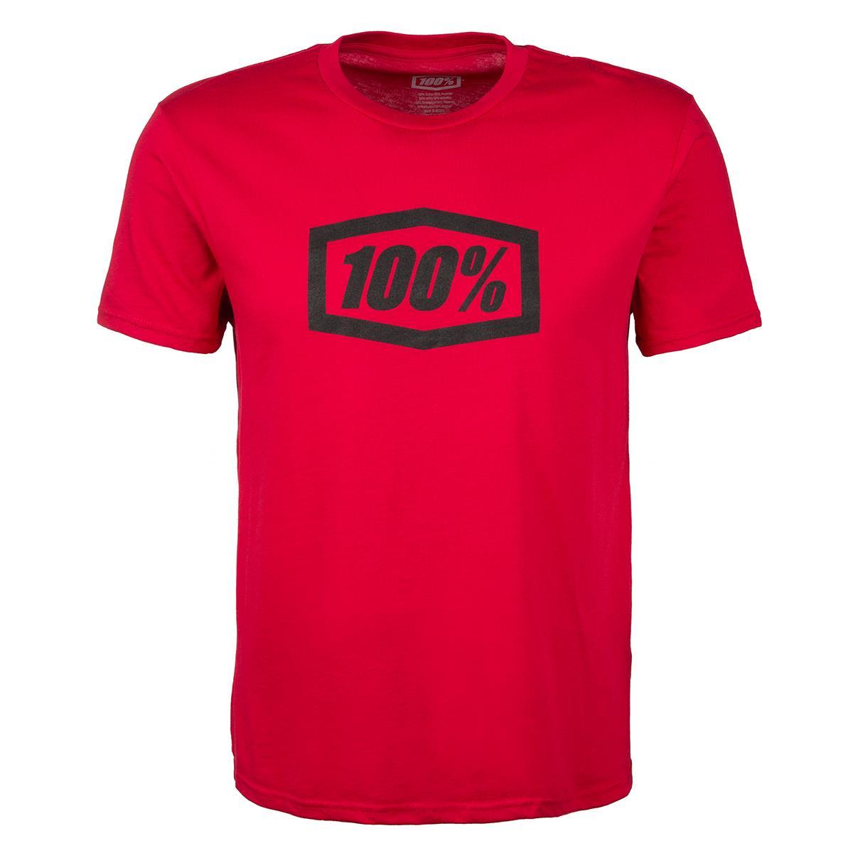 100% T-Shirt Essential Rot