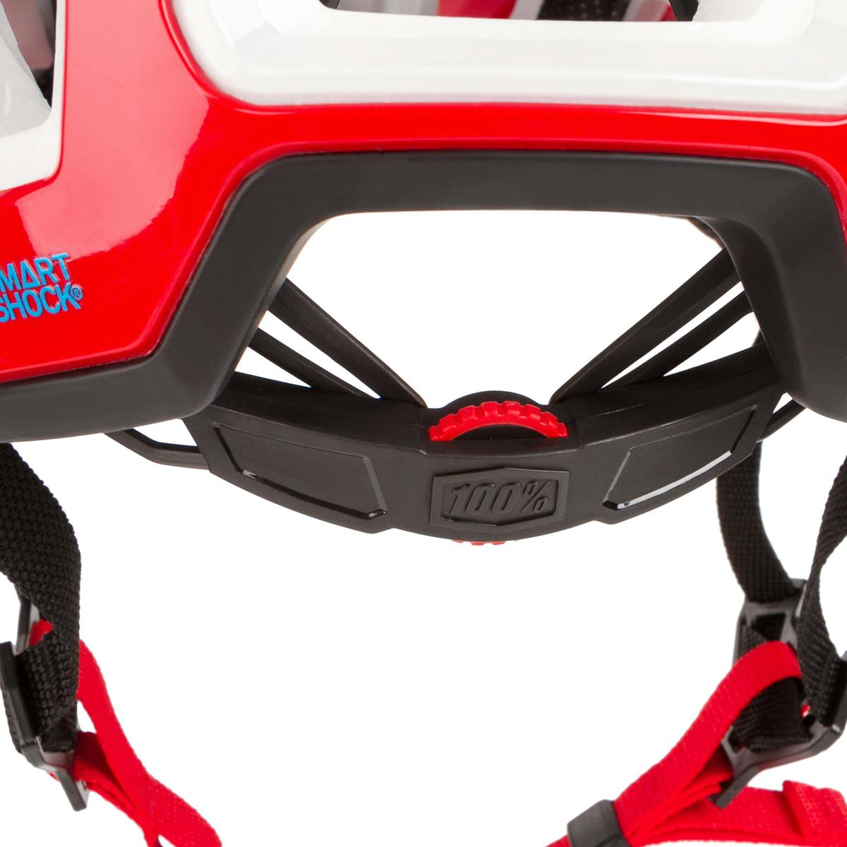 100/% Enduro MTB-Helm Altec Rot