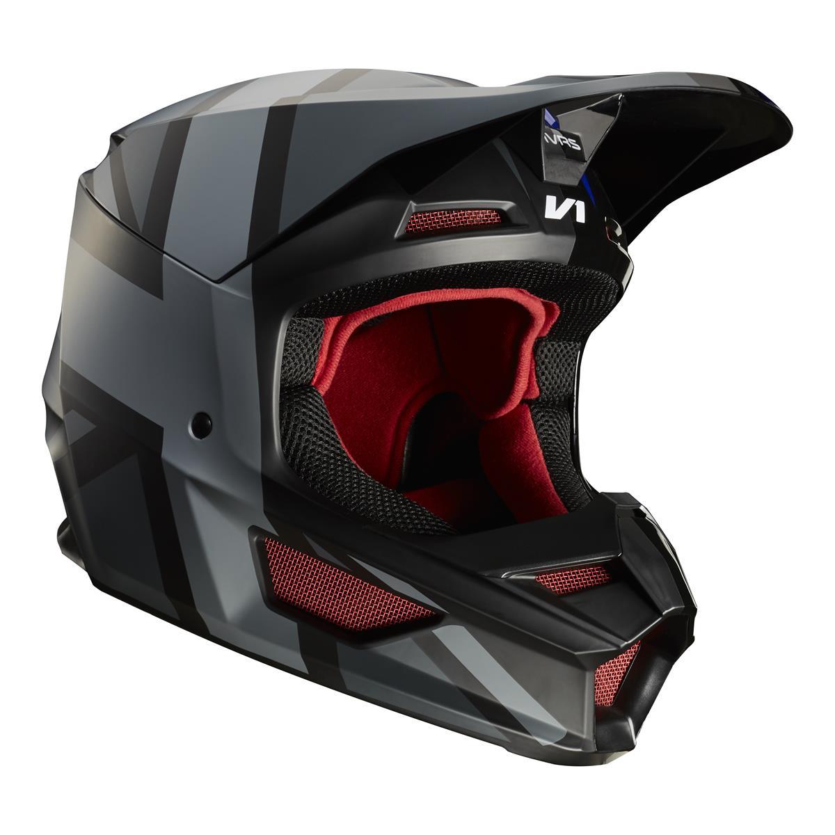 Fox Helm V1 Rot/Schwarz - Special Edition MXON