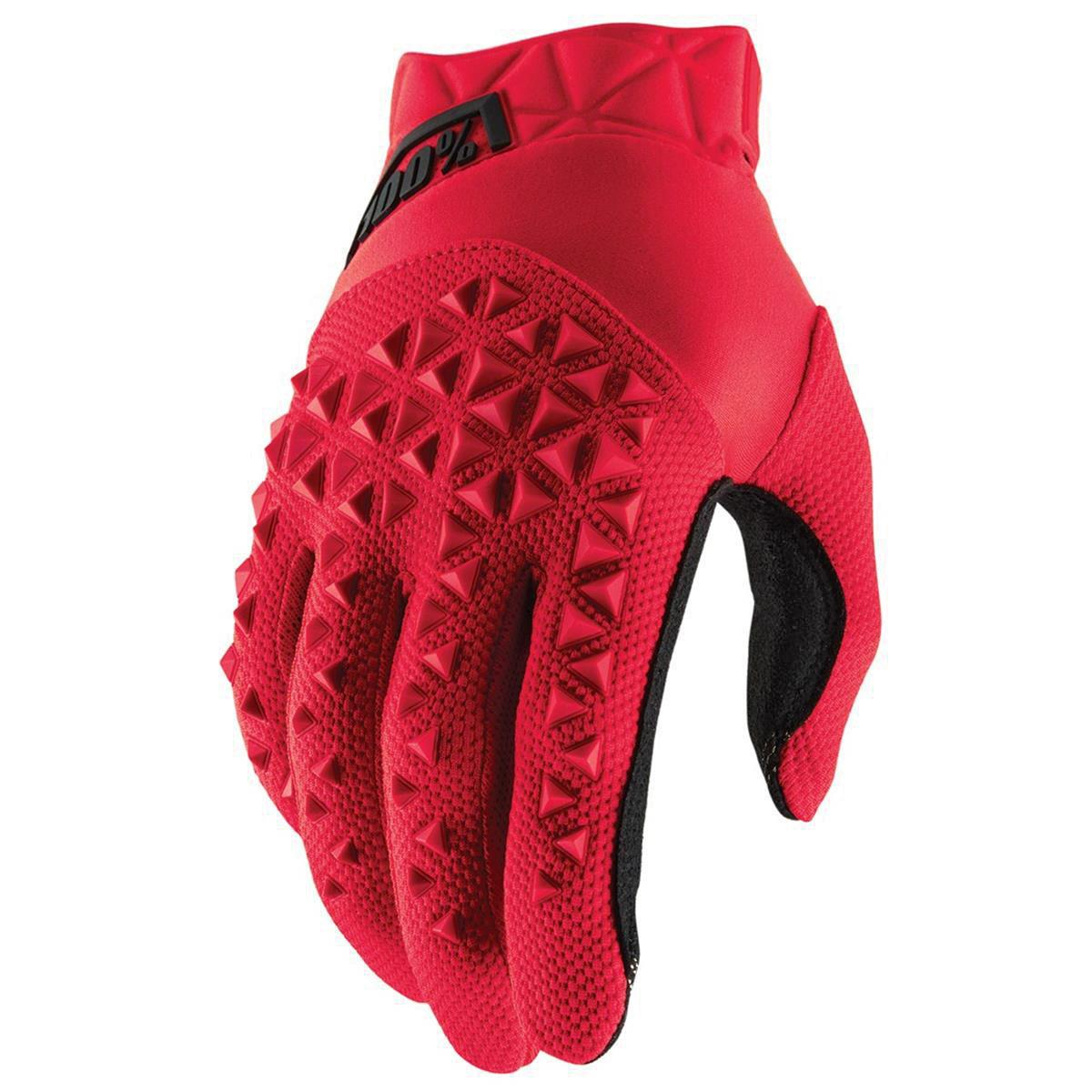 100% Bike-Handschuhe Airmatic Rot/Schwarz