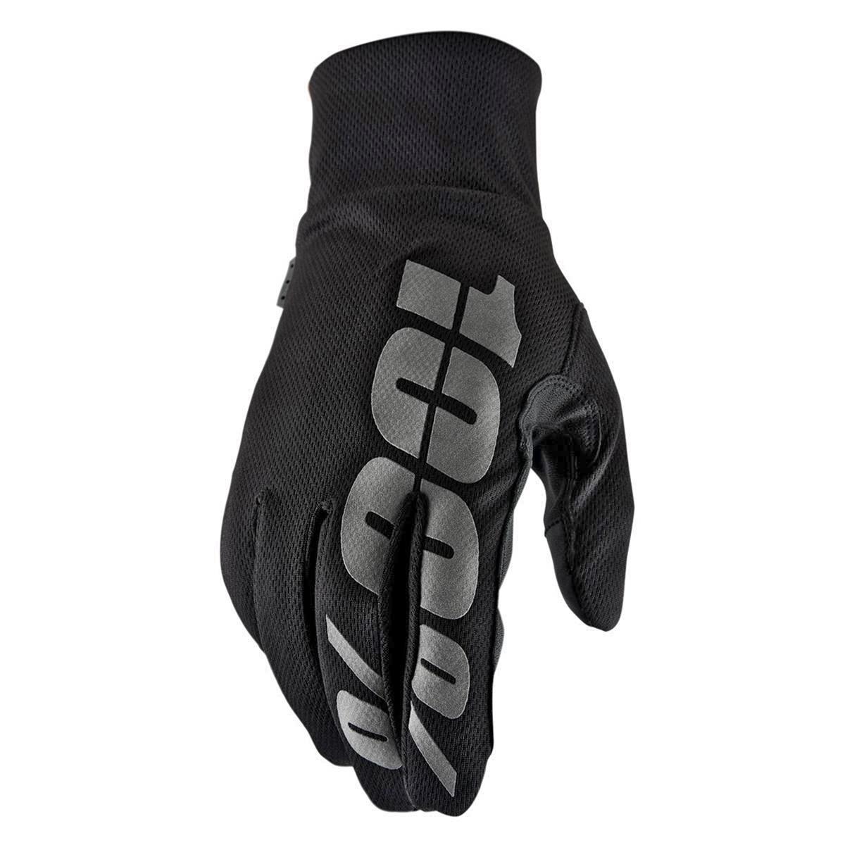 100% Bike-Handschuhe Hydromatic Waterproof Schwarz