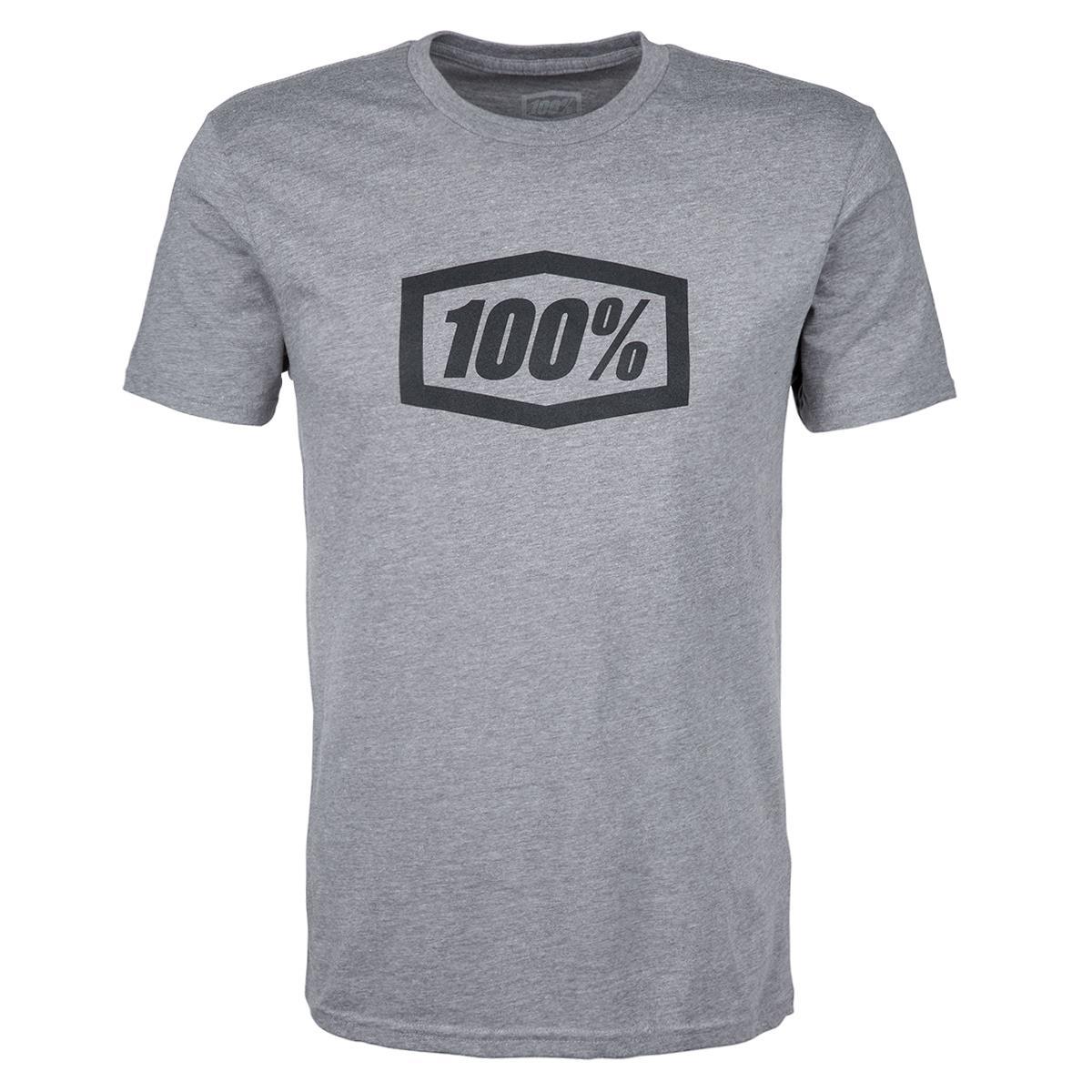 100% T-Shirt Essential Gunmetal Heather