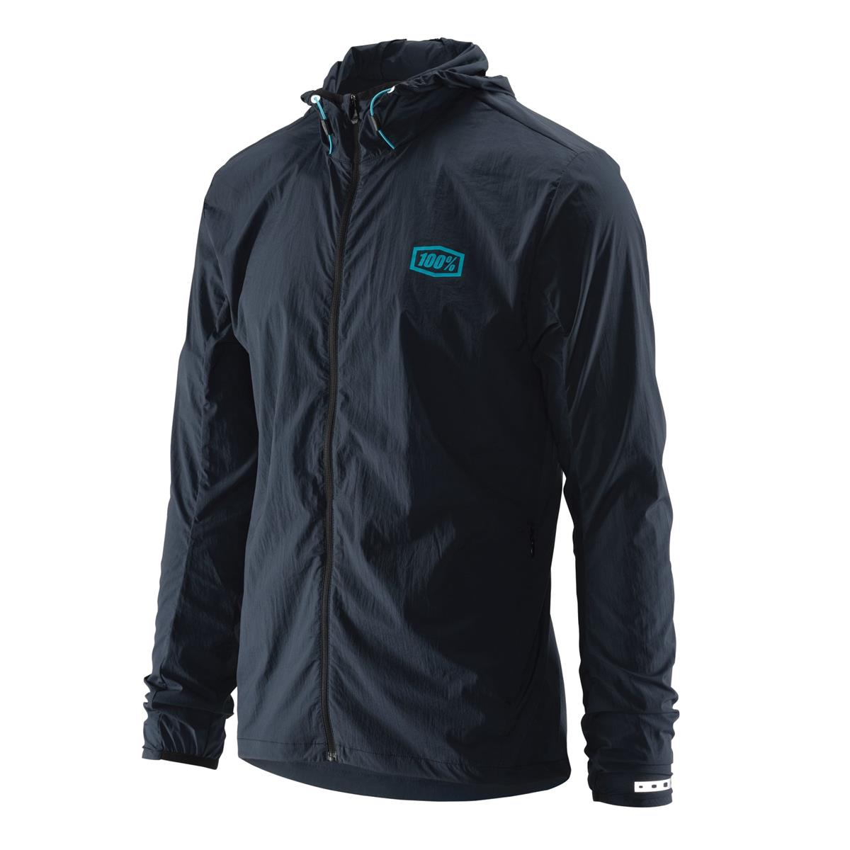 100% Windbreaker Aero Tech Charcoal