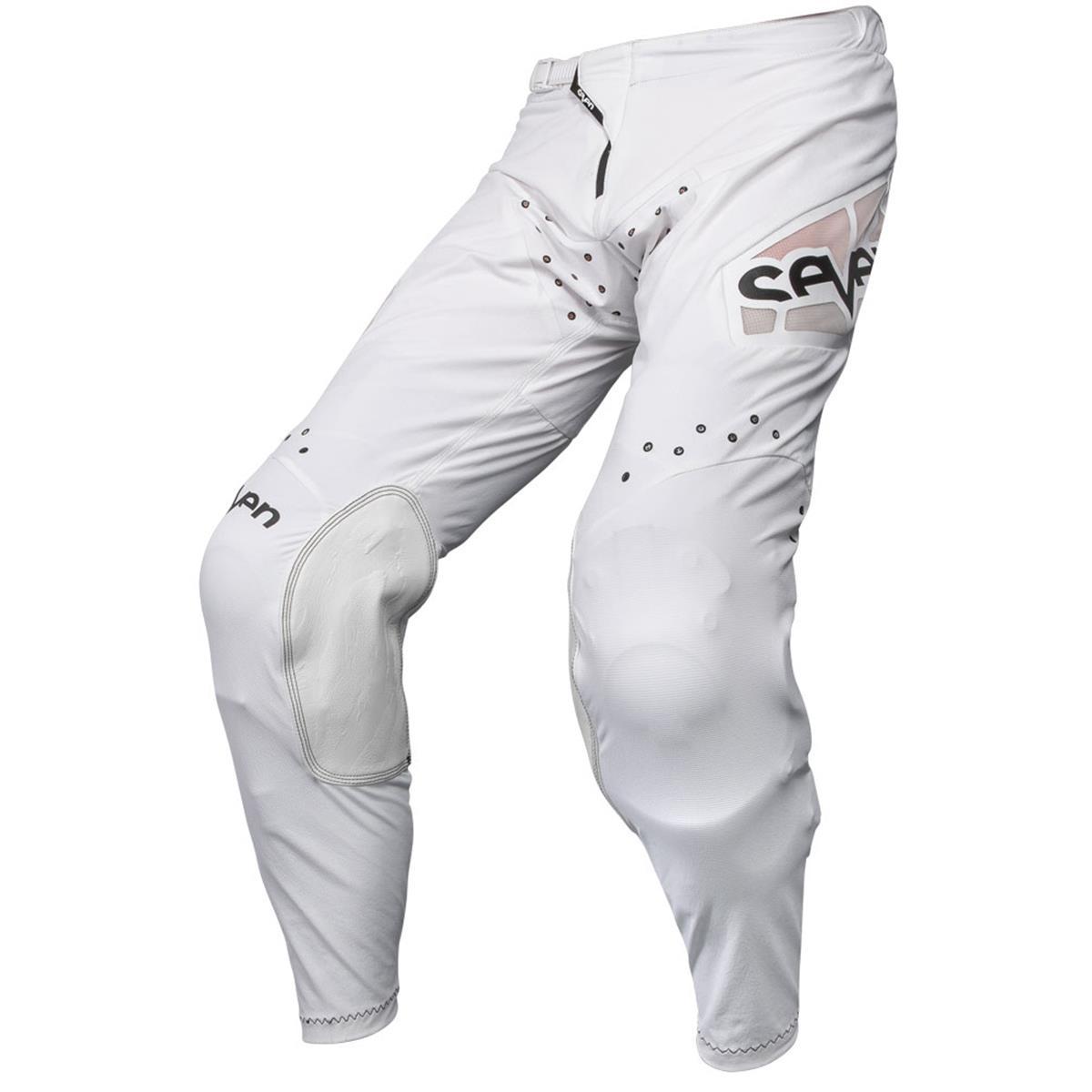 Seven MX Cross Hose Zero Staple Weiß