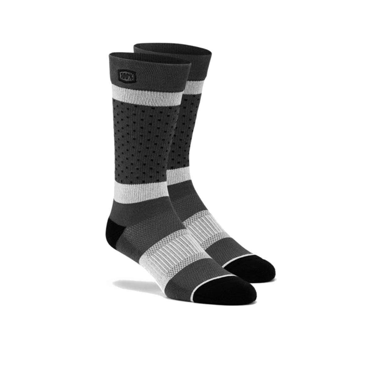 100% Socken Opposition Grau