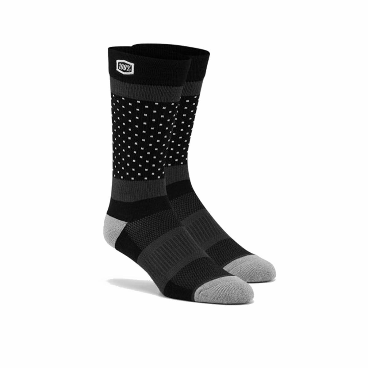 100% Socken Opposition Schwarz