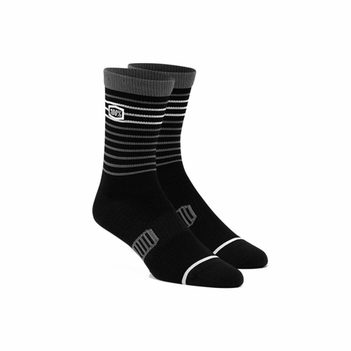 100% Socken Advocate Schwarz