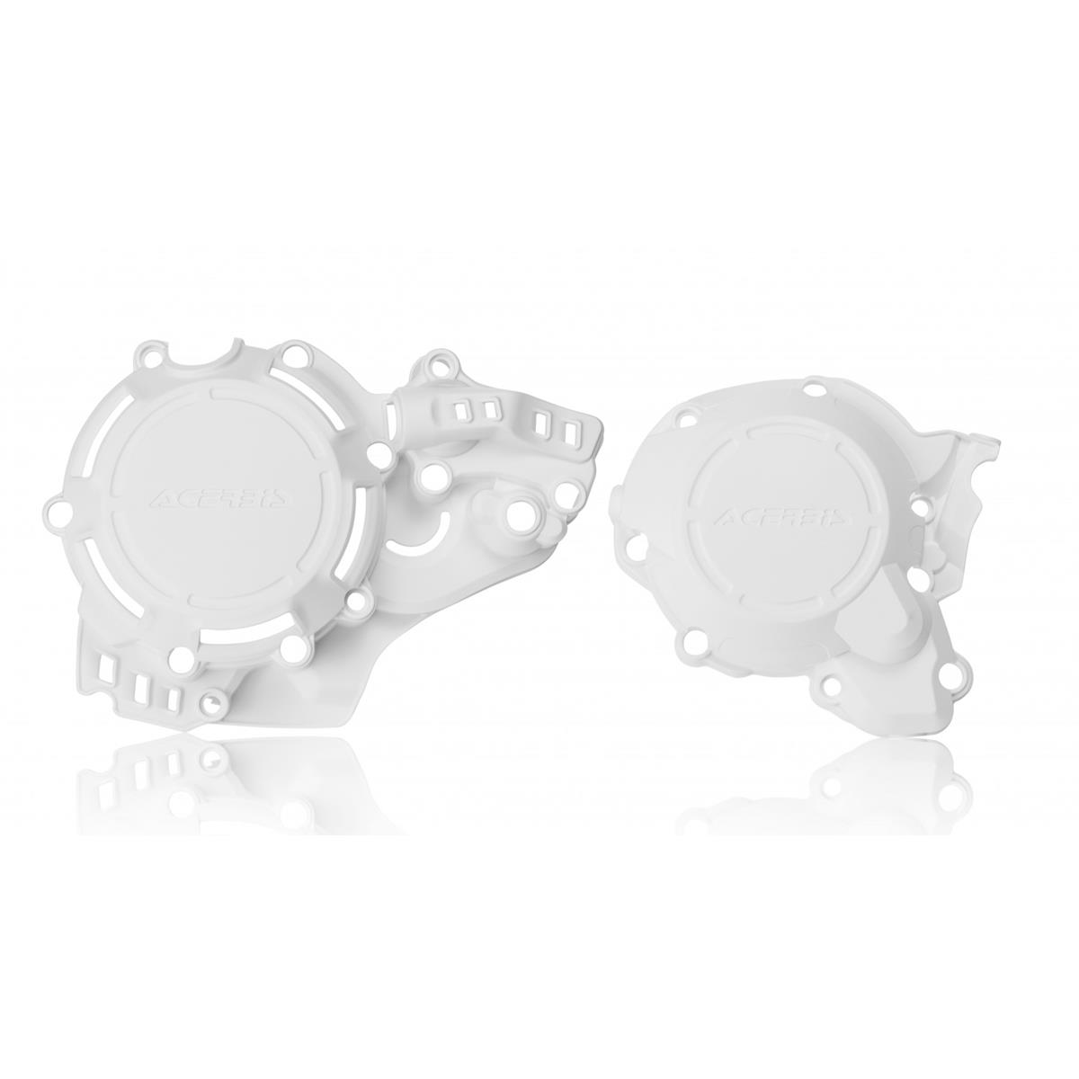 Acerbis Kupplungs/Zündungsdeckelschutz X-Power KTM EXC 250/300 17-19, SX 250 17-18, Husqvarna TE 250/300 18-19, TC 250 17-18, Weiß