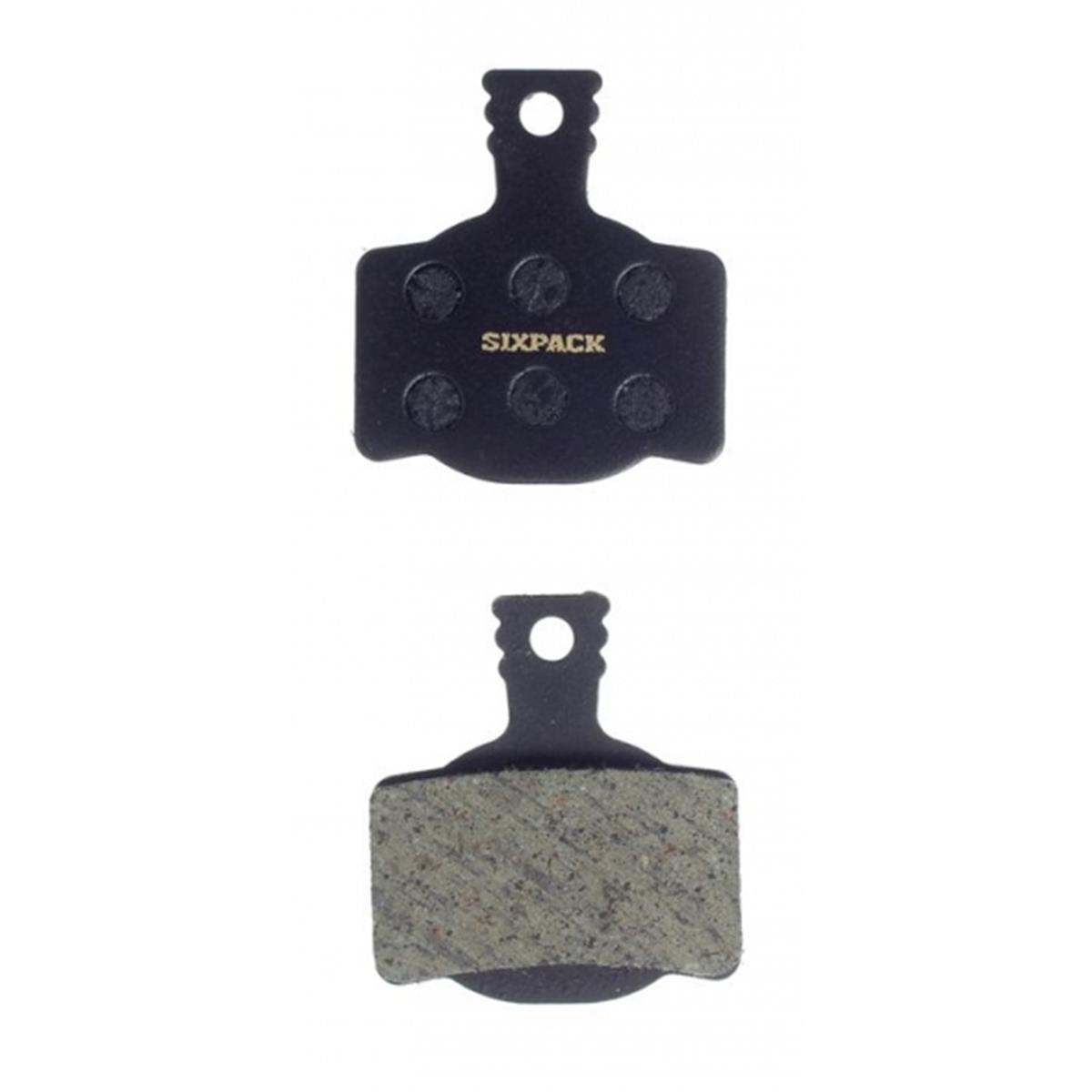 Sixpack Bike-Bremsbelag Magura Organisch für Magura MT8/MT6/MT4/MT2 (2-piston)