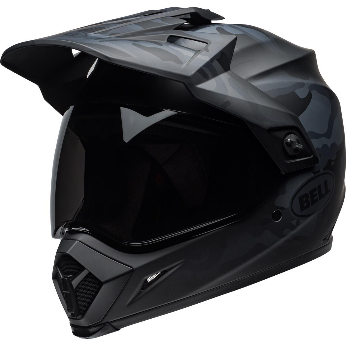 Bell Helm MX-9 Adventure MIPS Stealth - Matt Schwarz/Camo