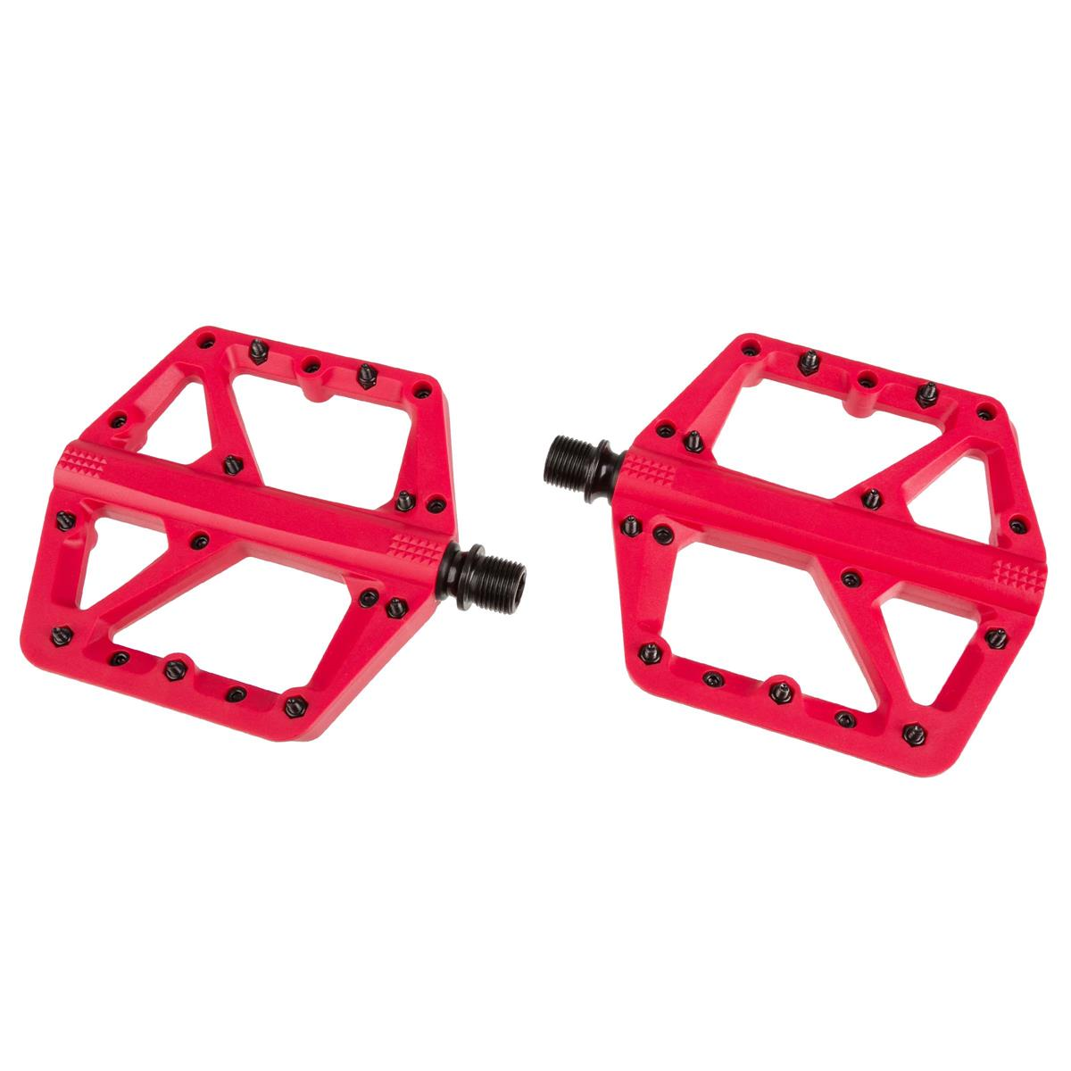 Crankbrothers Pedale Stamp 1 Rot, Large