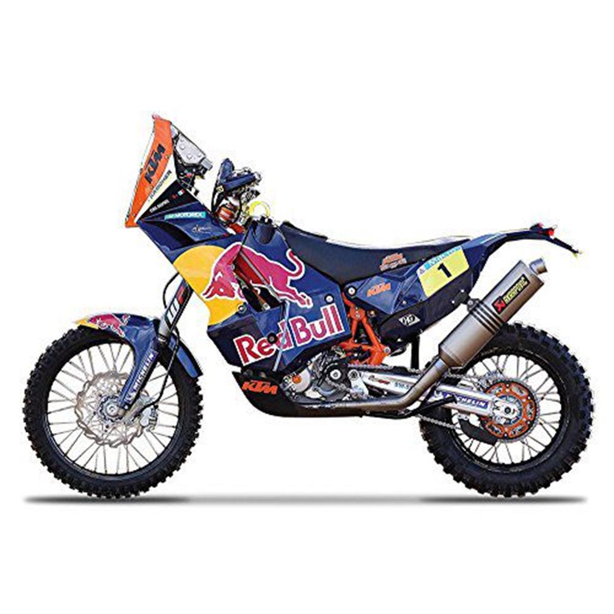 Miniatuur Motorradmodell - KTM 450 (Dakar Rally) #1 Cyril  1:18