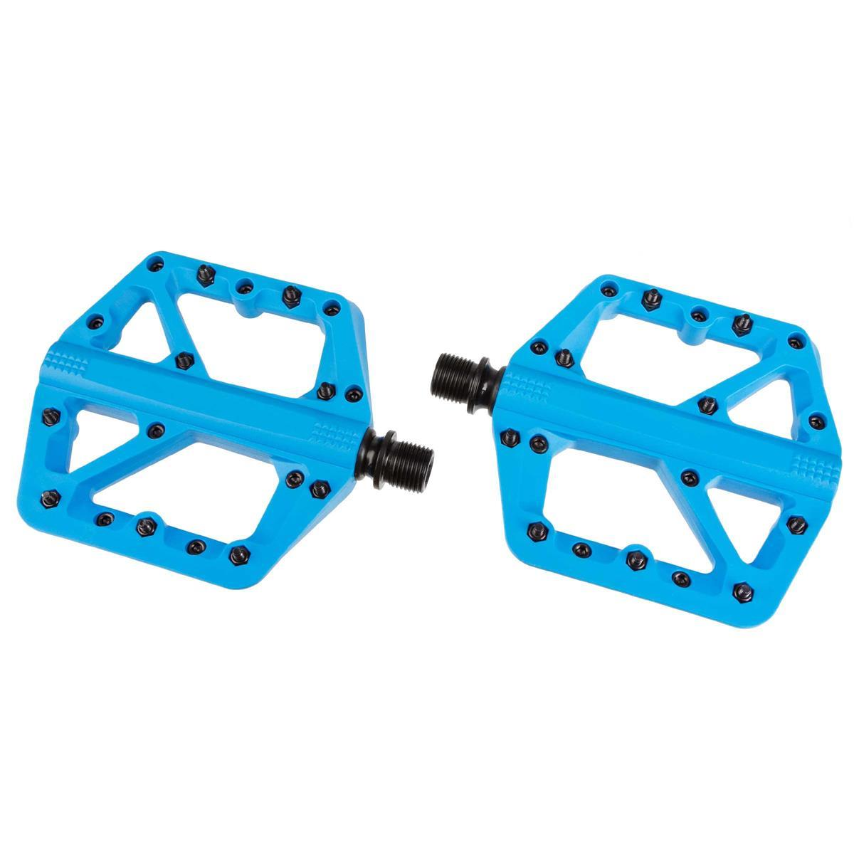 Crankbrothers Pedale Stamp 1 Blau, Large