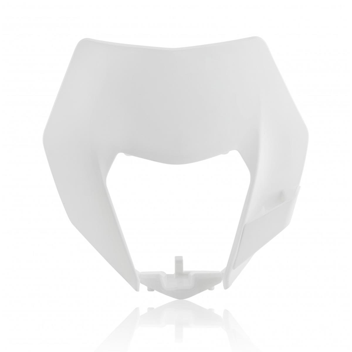 EXC-F 250//350//400//450//500 Weiß Acerbis Lampenmaske  KTM EXC 125//200//250//300