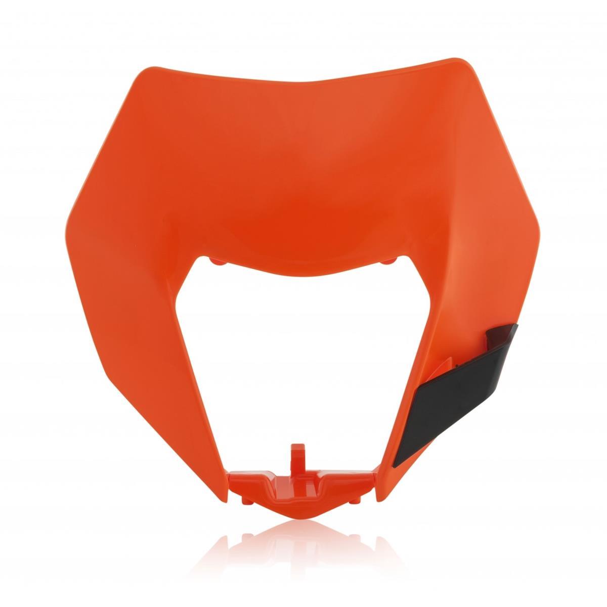 Acerbis Lampenmaske  KTM EXC 125/200/250/300, EXC-F 250/350/400/450/500, Orange