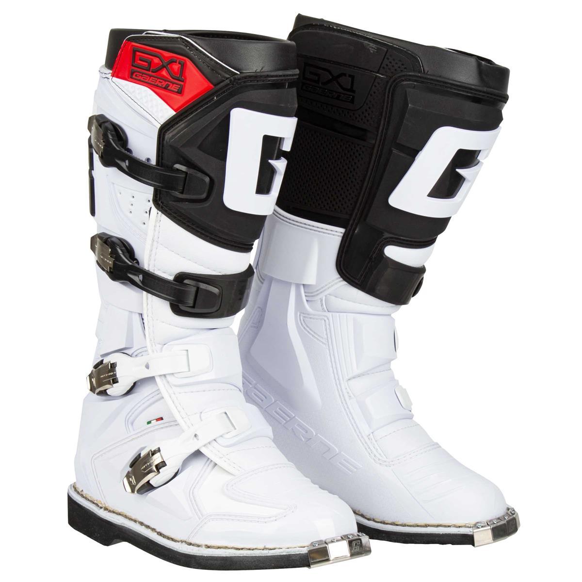 Gaerne Motocross-Stiefel GX-1 Goodyear Weiß