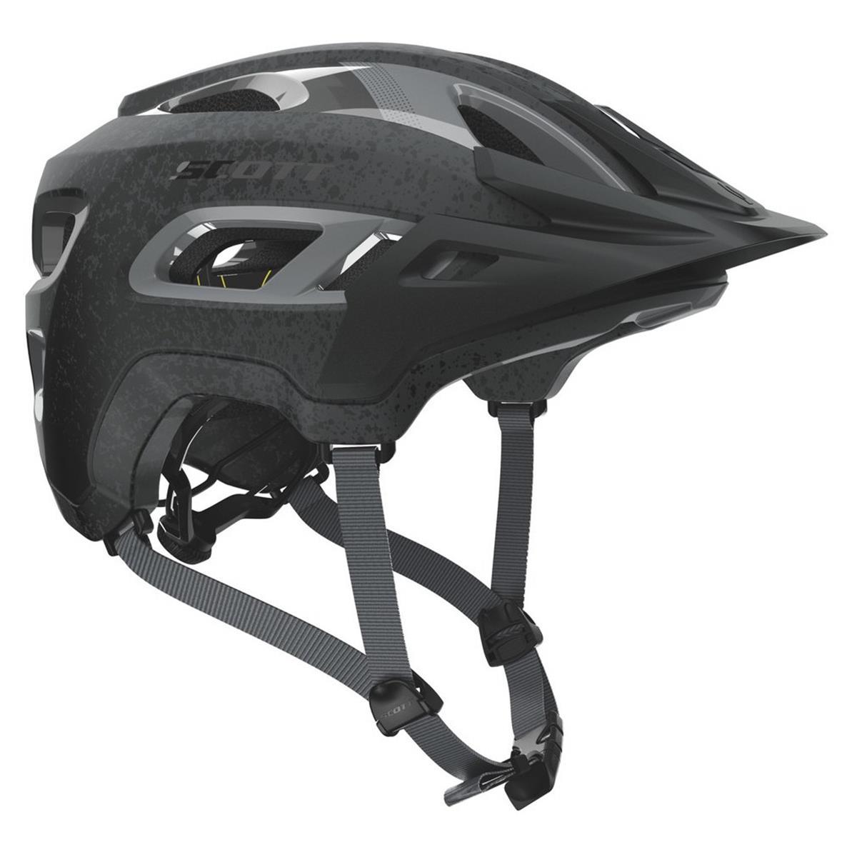 Scott Trail-Helm Stego Dunkelgrau