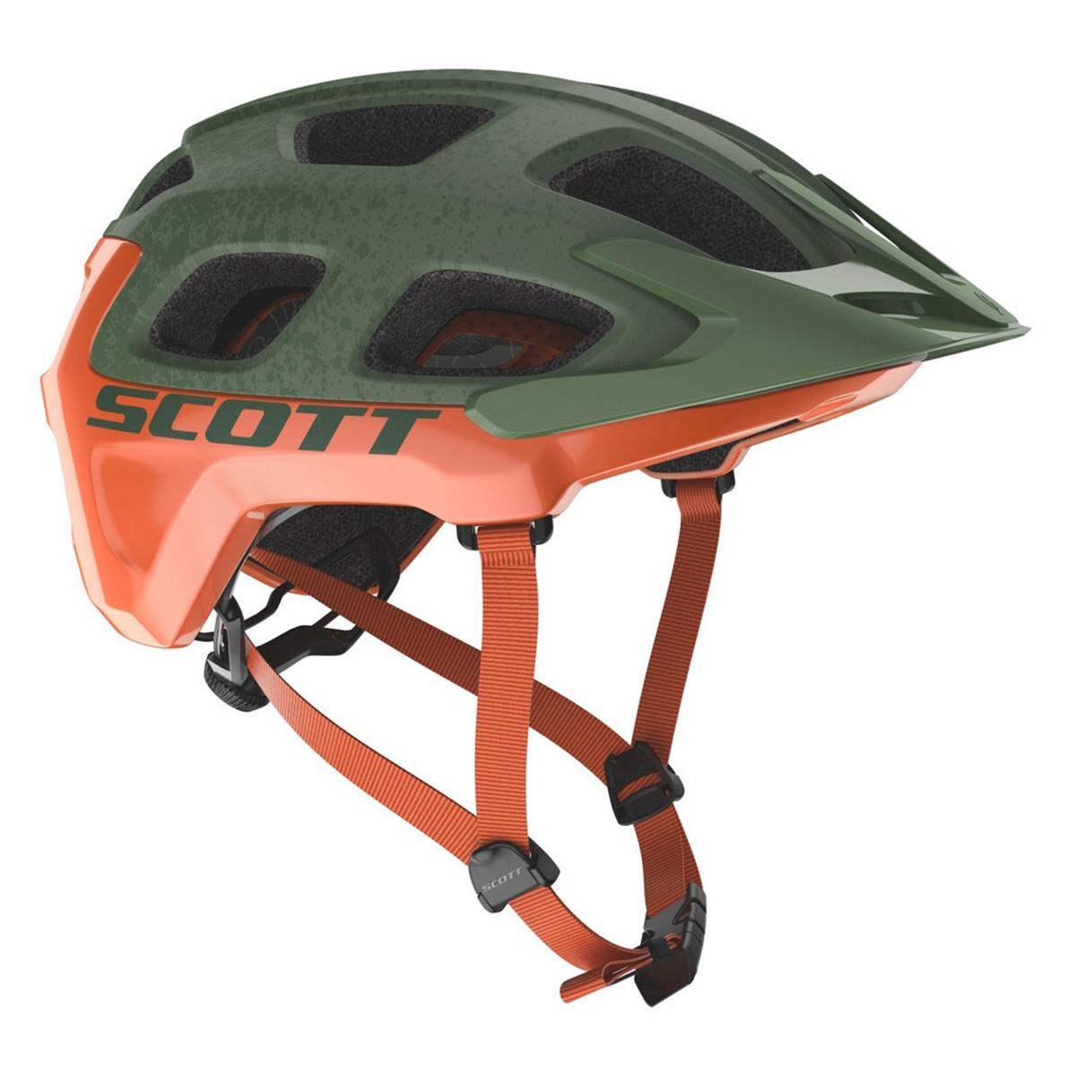 Scott Trail-MTB Helm Vivo Plus Metal Green/Orange