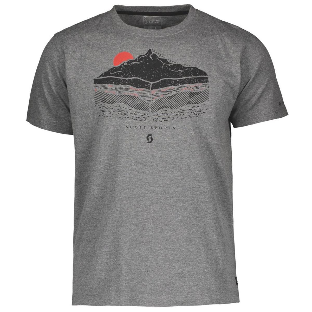 Scott T-Shirt 10 Graphic Heather Grey