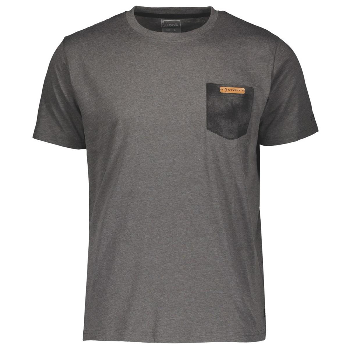 Scott T-Shirt 10 Heritage Dark Grey Melange