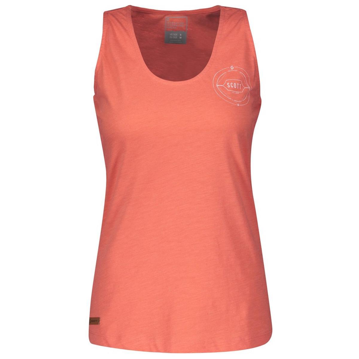 Scott Girls Tank Top 10 Casual Camellia Pink Melange