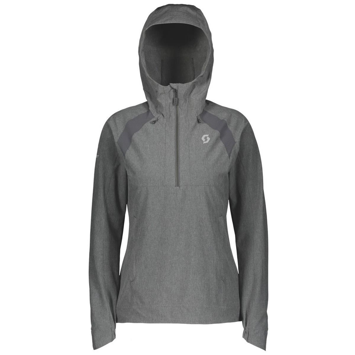 Scott Girls Zip Hoody Trail MTN Stretch 50 Dunkelgrau