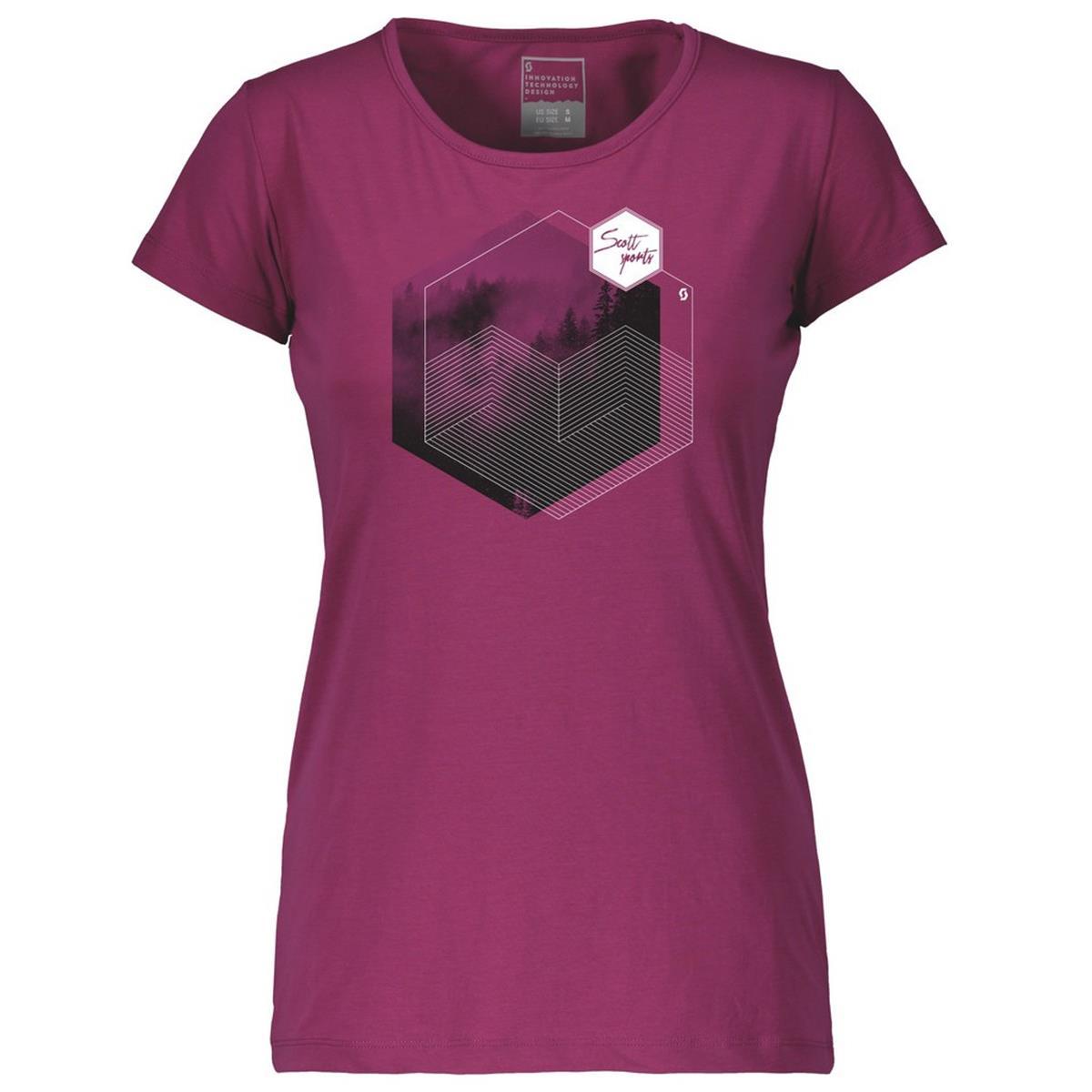 Scott Girls T-Shirt Trail MTN DRI 70 Ultra Violet