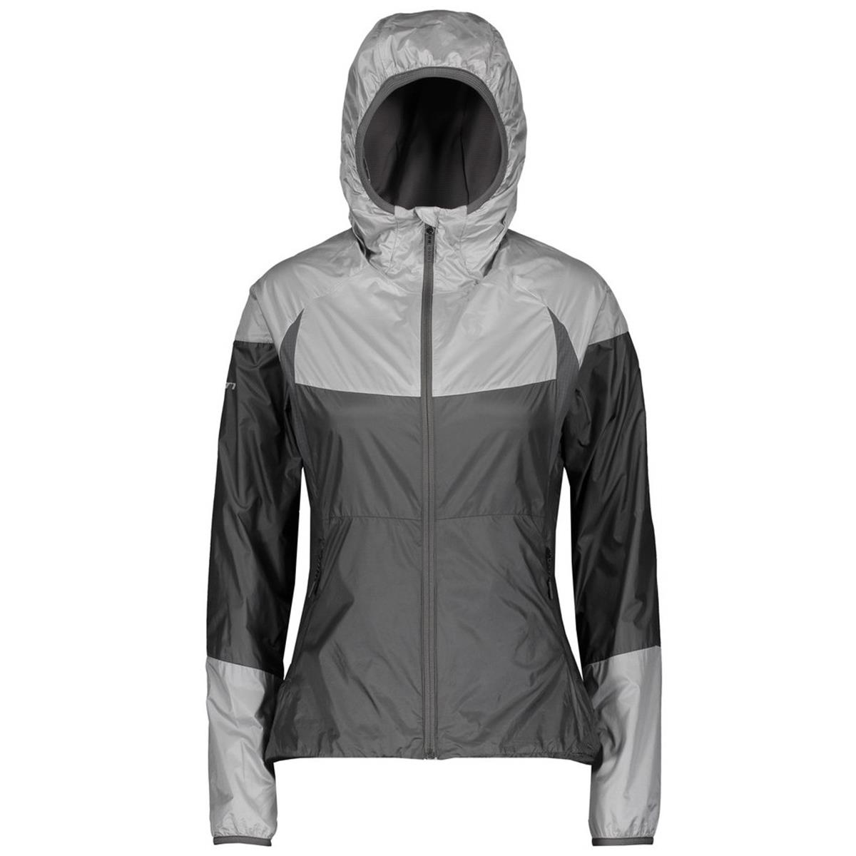 Scott Girls Jacke Trail MTN Tech Hybrid Hellgrau/Dunkelgrau