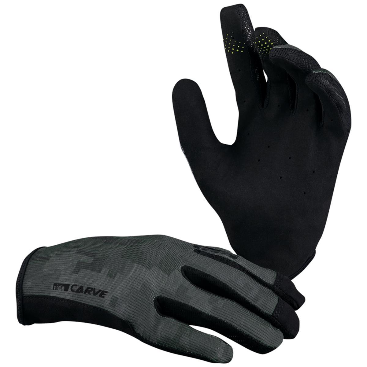 IXS Bike-Handschuhe Carve Schwarz/Camo