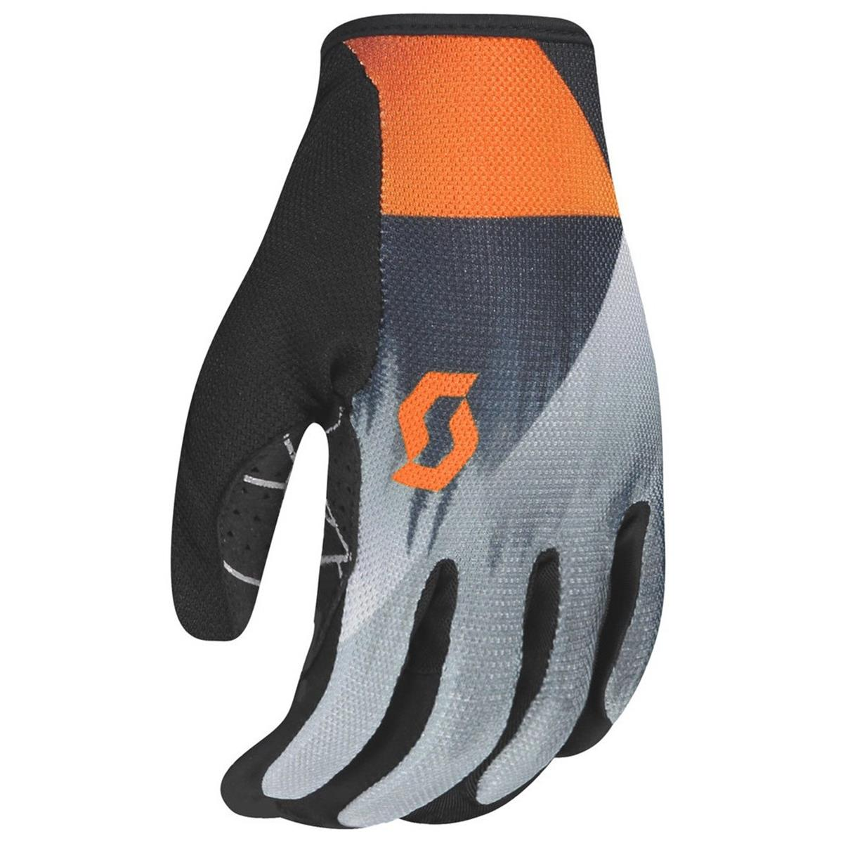 Scott Bike-Handschuhe Traction Dark Grey/Exotic Orange