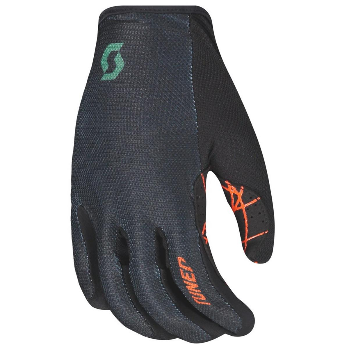 Scott Bike-Handschuhe Traction Tangerine Orange/Dark Ivy Green