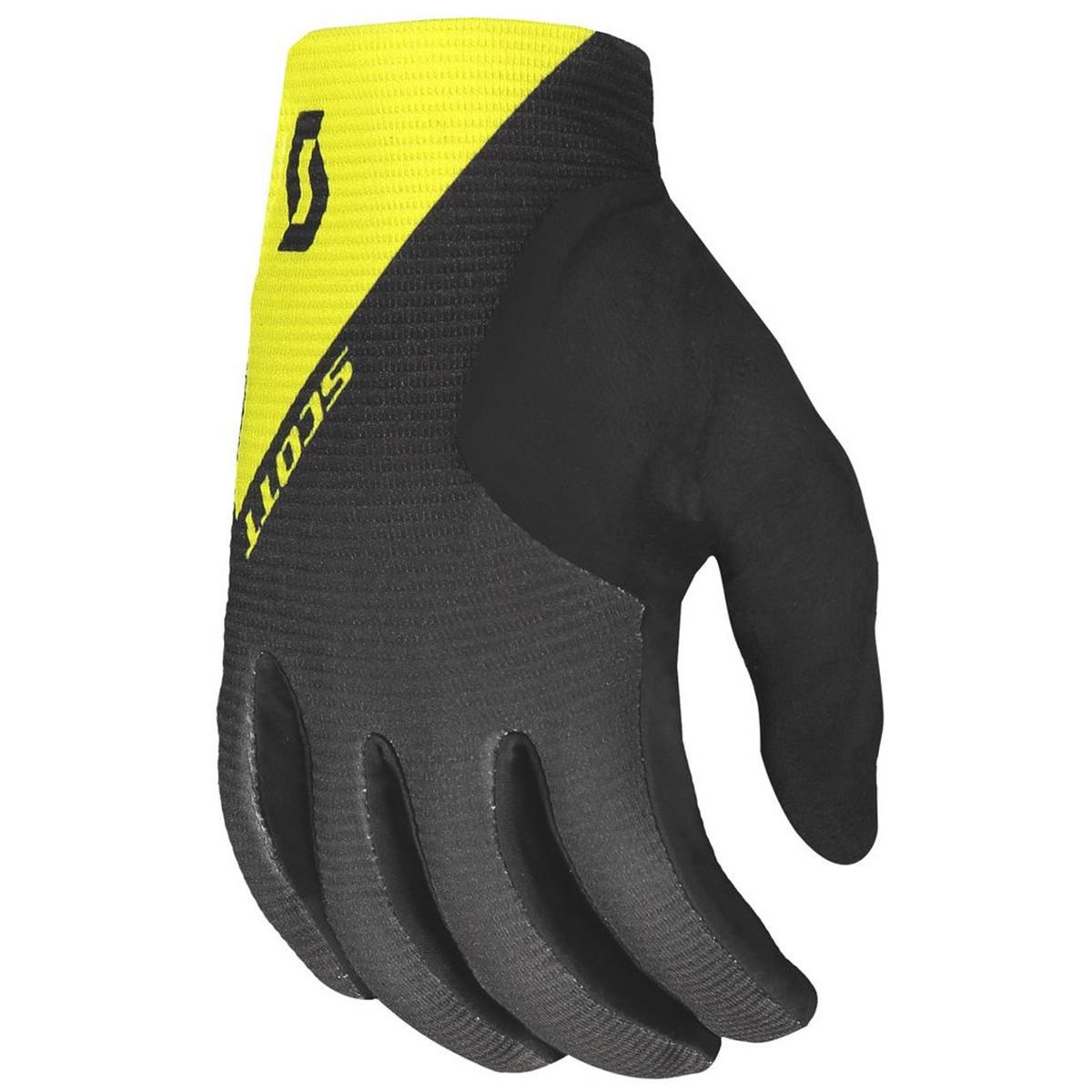 Scott Bike-Handschuhe Ridance Dunkelgrau/Sulphur Gelb