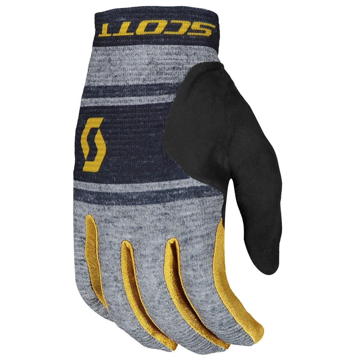 Scott Bike-Handschuhe Ridance Dunkelgrau/Ochre Yellow