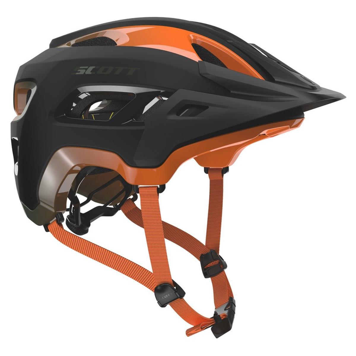 Scott Trail-MTB Helm Stego Metal Green/Orange