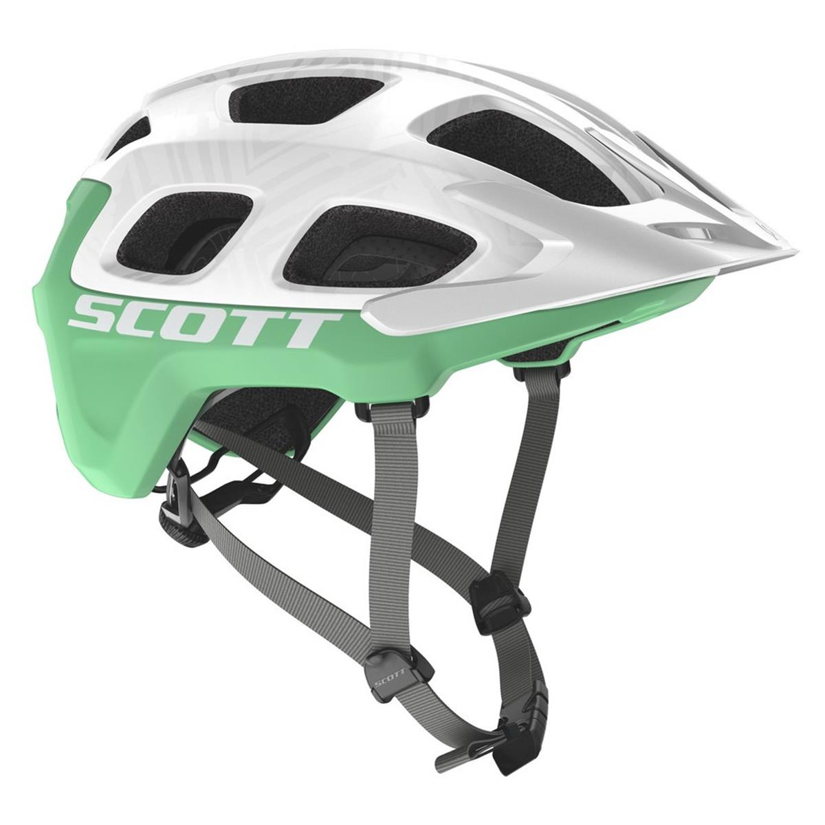 Scott Trail-MTB Helm Vivo Plus Weiß/Mintgrün