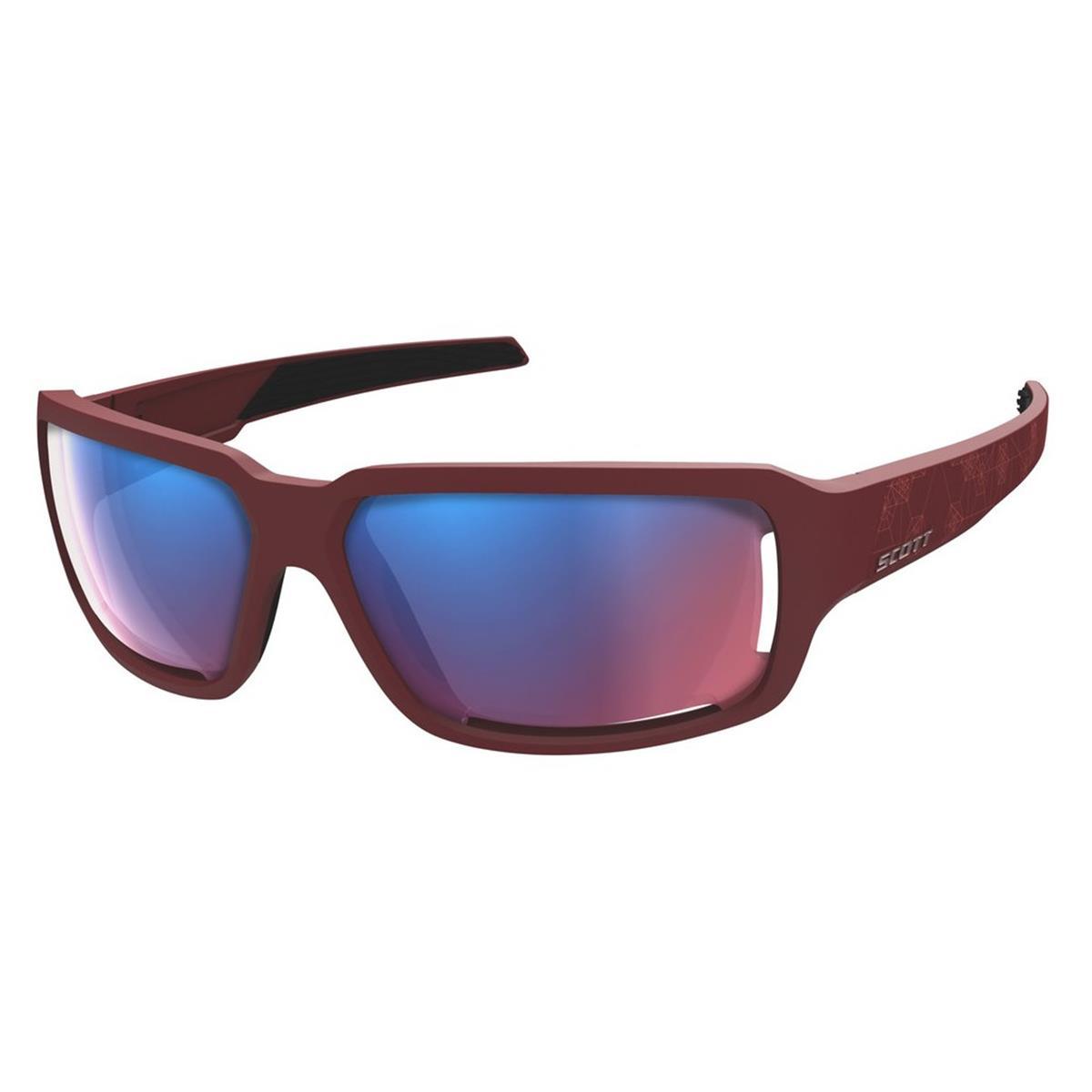 Scott Sonnenbrille Obsess ACS Dunkelrot/Pink Chrom