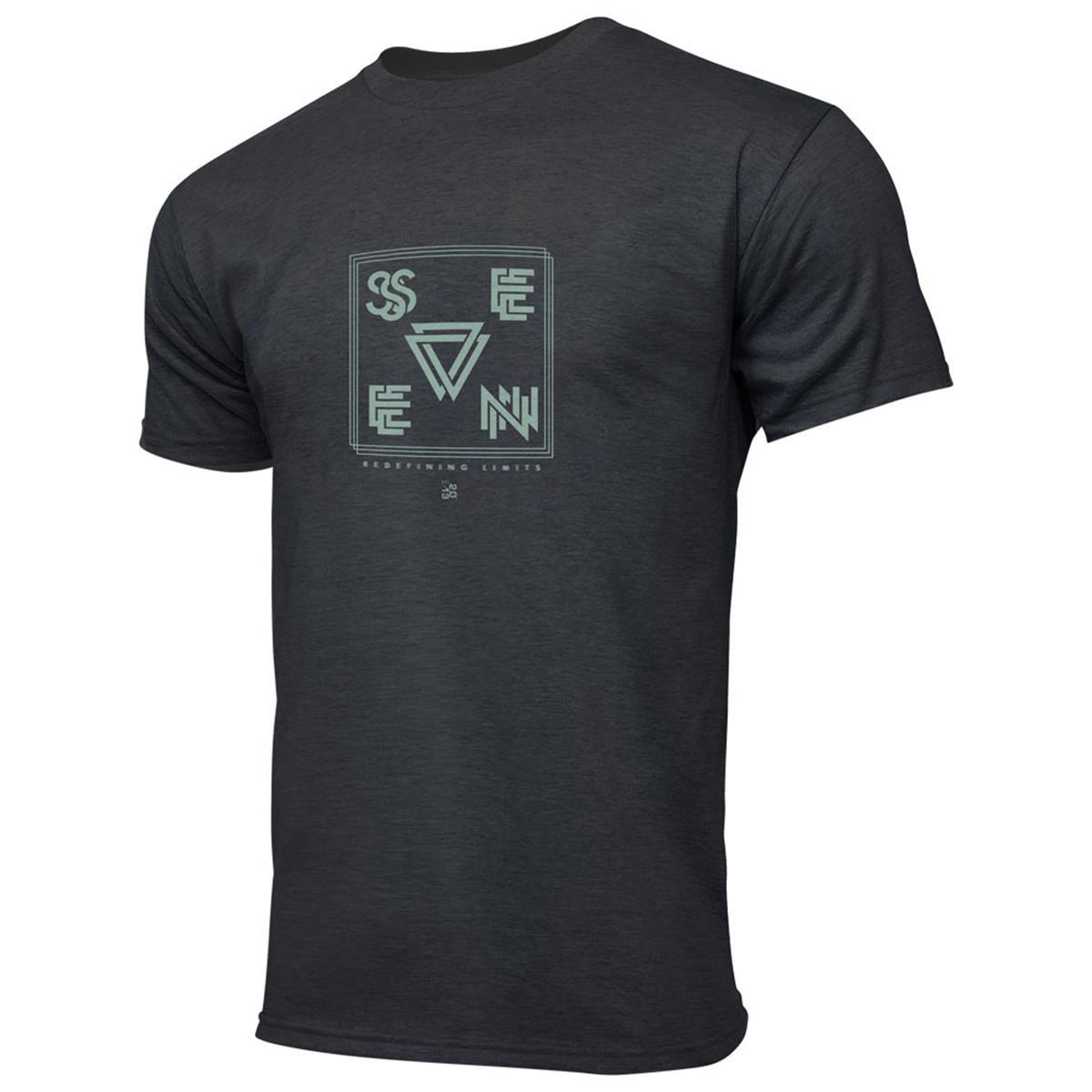 Seven MX T-Shirt Vector Charcoal Heather