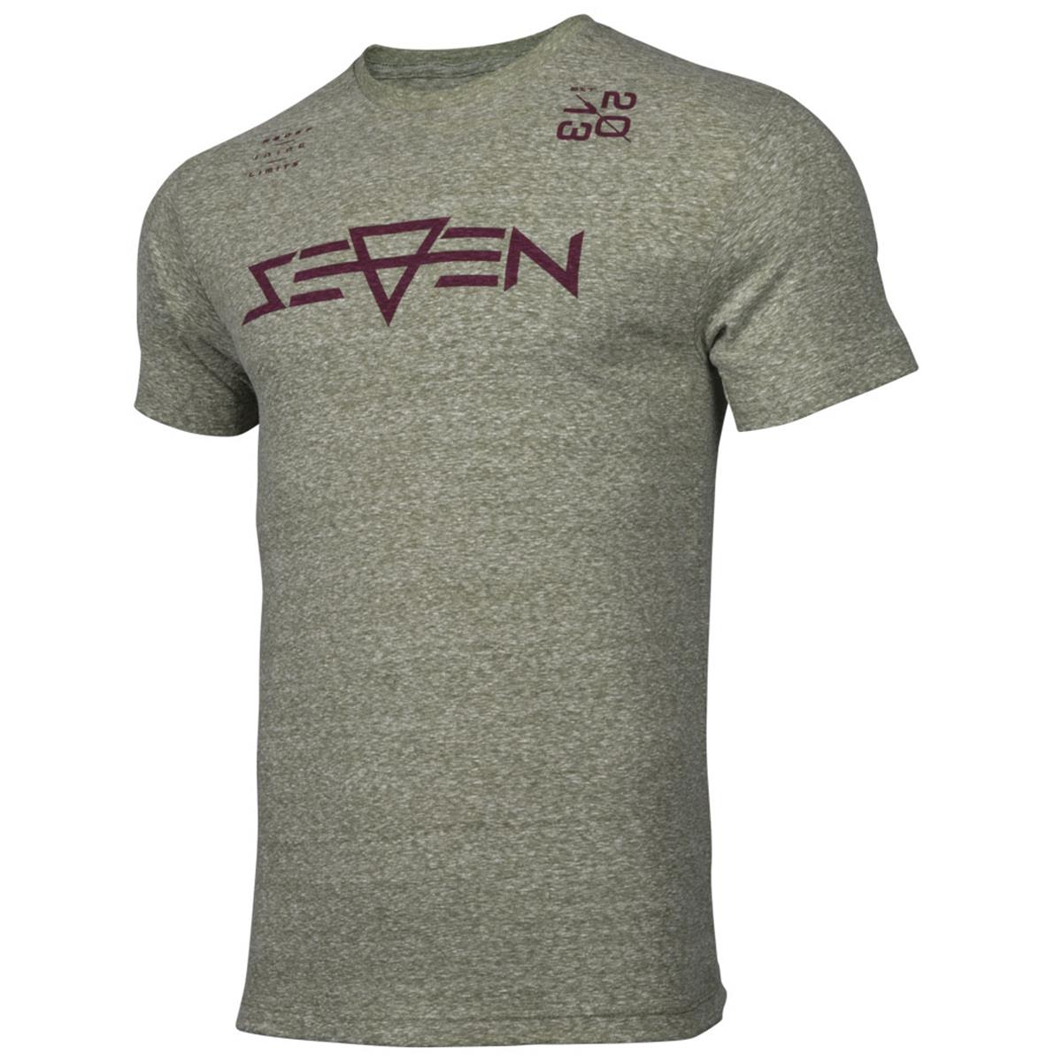 Seven MX T-Shirt Overdrive Military Snow