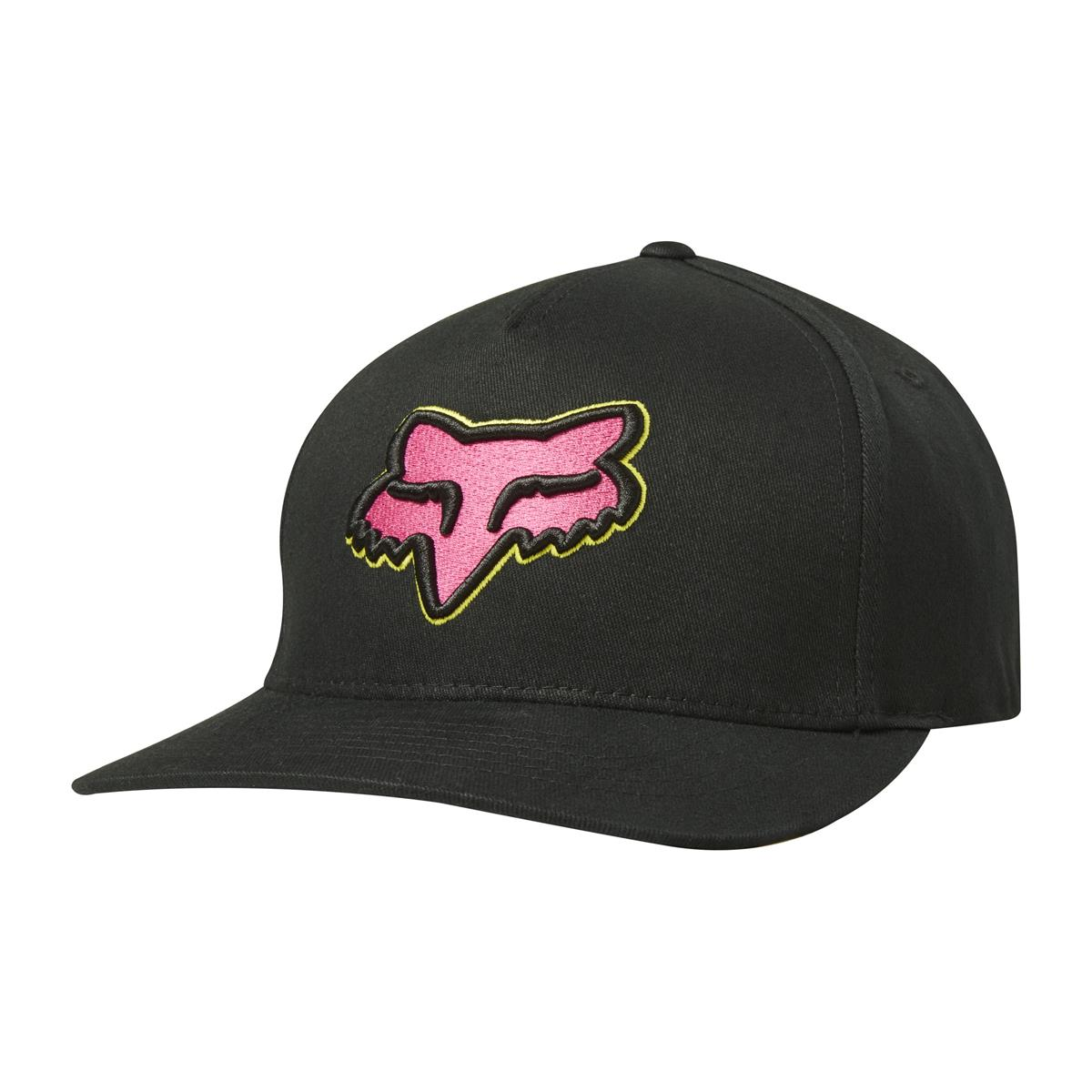 Fox Flexfit Cap Epicycle Limited Edition A1 - Schwarz/Pink