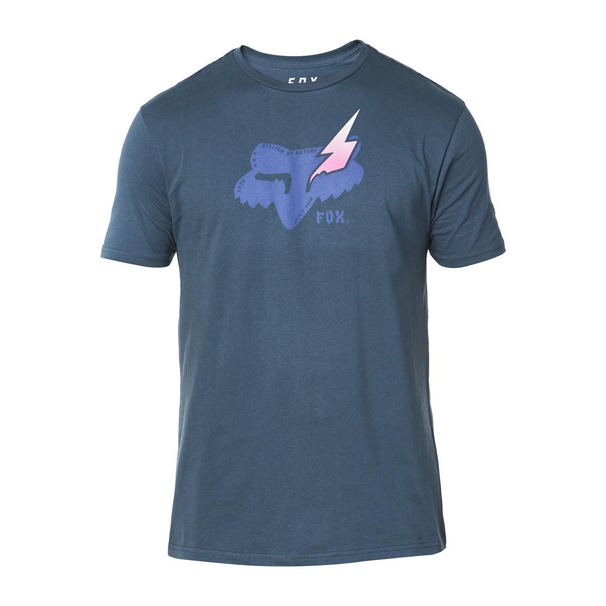 Fox T-Shirt Hellion Limited Edition A1 - Navy