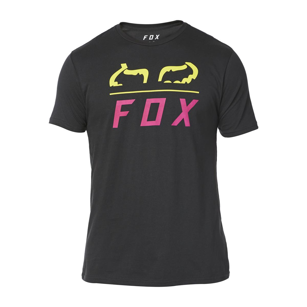 Fox T-Shirt Furnace Limited Edition A1 - Schwarz/Gelb