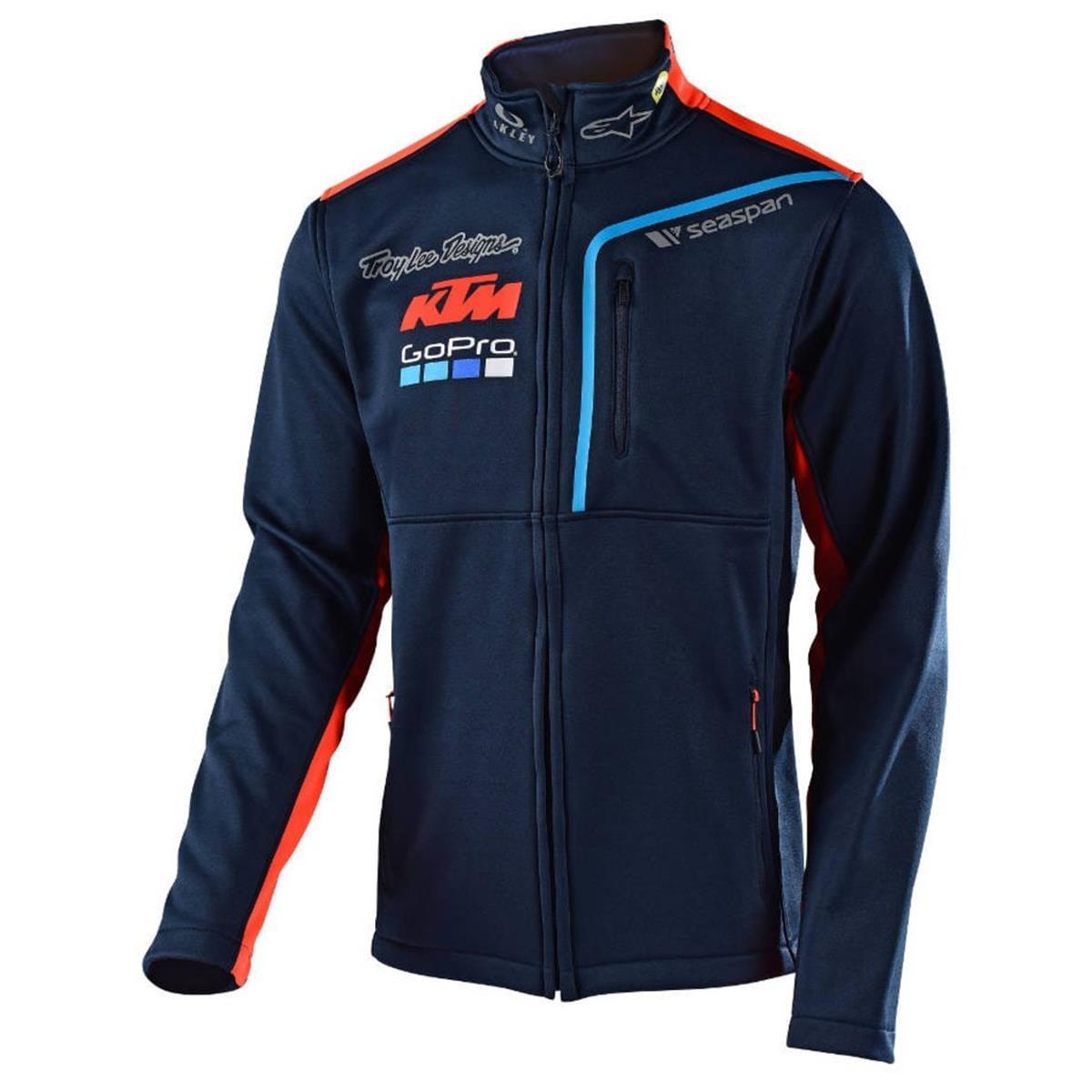 Troy Lee Designs Fleece-Jacke KTM Team Polar Navy
