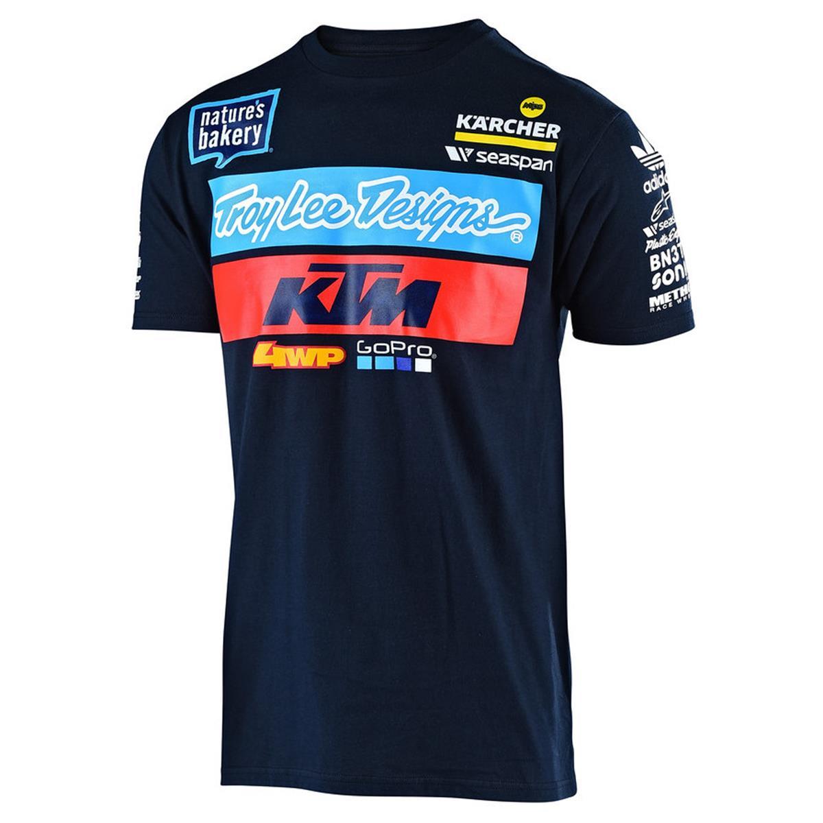 Troy Lee Designs T-Shirt KTM Team Navy